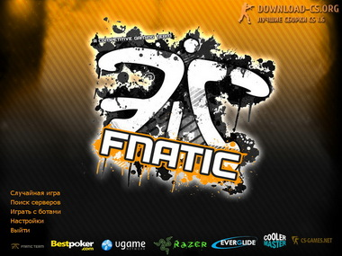 Скачать Counter-Strike 1.6 от Fnatic